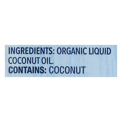 Carrington Farms Cooking Oil, Coconut, Organic, Unflavored