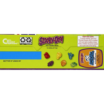 Betty Crocker Fruit Flavored Snacks, Assorted Fruit Flavors, Scooby-Doo!, Value Pack