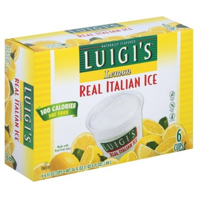 Luigi's Italian Ice, Real, Lemon