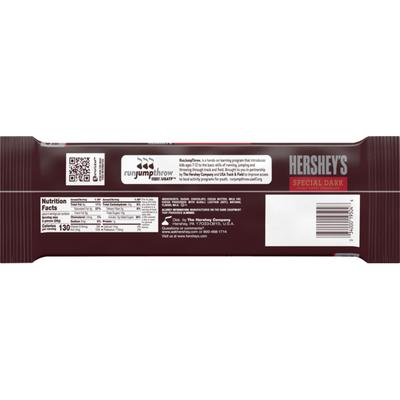 Hershey's Chocolate Bar, Dark Chocolate, Snack Size