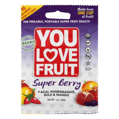 You Love Fruit Super Fruit Snack Super Berry