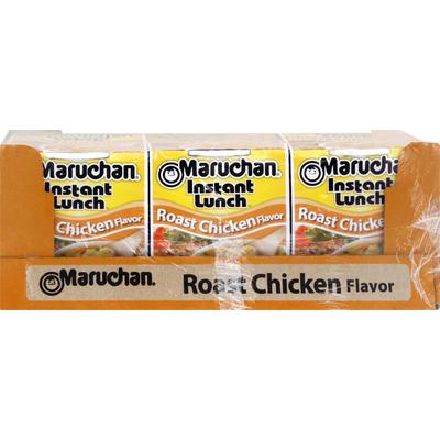 Maruchan Ramen Noodle Soup, Roast Chicken