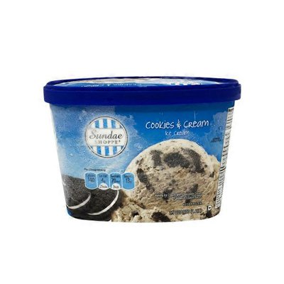 Sundae Shoppe Cookies & Cream Ice Cream