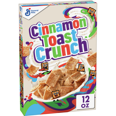 Cinnamon Toast Crunch Breakfast Cereal with Whole Grain
