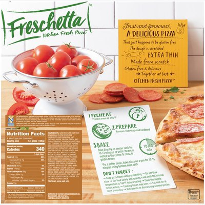 FRESCHETTA Gluten Free Pepperoni Pizza