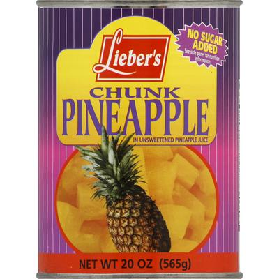 Lieber's Pineapple, Chunk
