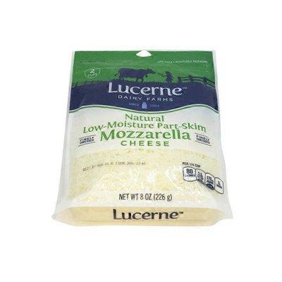 Lucerne Shredded Cheese, Finely, Part-Skim, Mozzarella, Low-Moisture