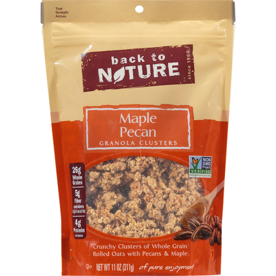 Back to Nature Granola Clusters, Maple Pecan