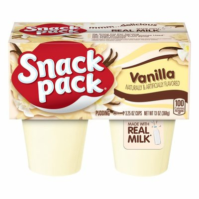 Snack Pack Pudding Vanilla