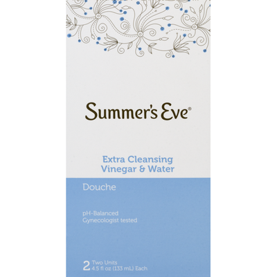 Summer's Eve Douche, Extra Cleansing Vinegar & Water
