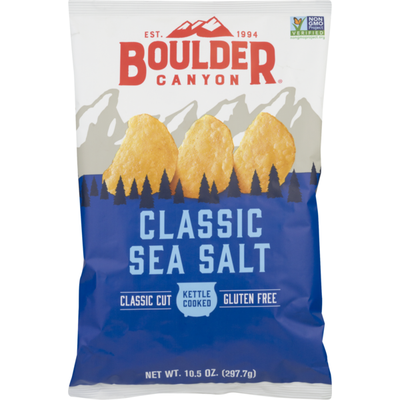 Boulder Canyon Potato Chips Classic Sea Salt