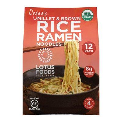 Lotus Foods Lotus Organic Brown Rice Ramen 12 Pk