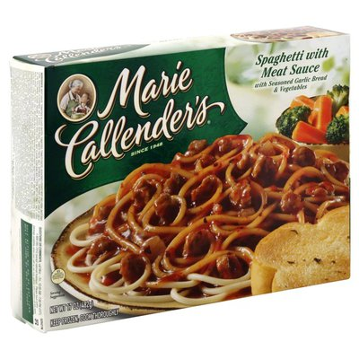 Marie Callender's Spaghetti with Meat Sauce
