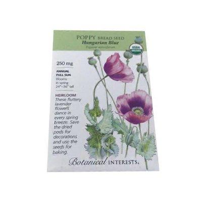 Botanical Interests Organic Breadseed Poppy Seeds