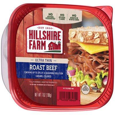 Hillshire Farm ® Ultra Thin Roast Beef Lunch Meat