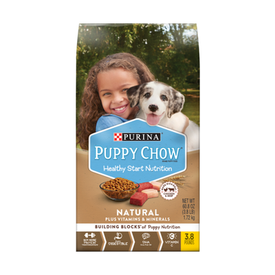 Purina Puppy Chow Natural High Protein Dry Puppy Food, With Real Chicken & Beef