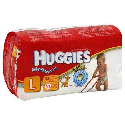 Huggies Diapers, Size L (22-37 lb), Disney