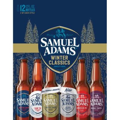 Samuel Adams Sweater Weather Seasonal Beer Variety Pack
