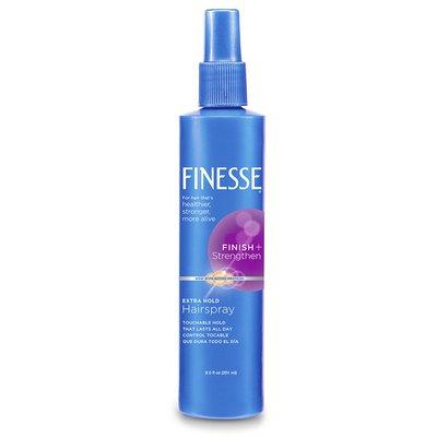 Finesse Finish + Strengthen Extra Hold Hairspray, Non-Aerosol