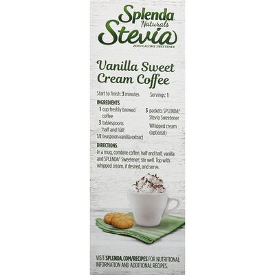 Splenda Sweetener, Zero Calorie, Stevia