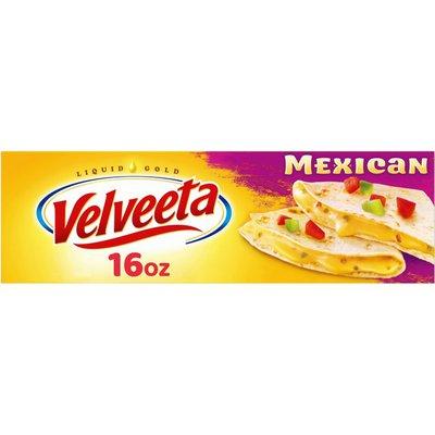 Kraft Velveeta Mexican Cheese with Jalapeno Peppers