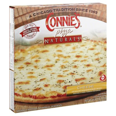 Connies Naturals, Pizza, Cheese, Box