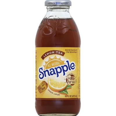 Snapple Green & Black Tea, Lemon Tea