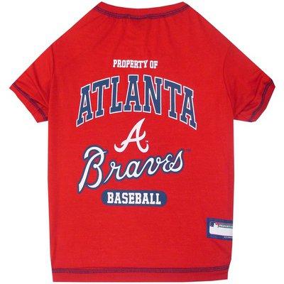Pets First Small Atlanta Braves T Shirt