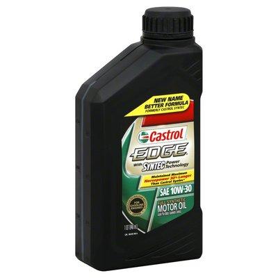 Castrol Motor Oil, Full Synthetic, SAE 10W-30