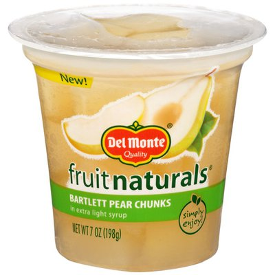 Del Monte Bartlett in Extra Light Syrup Pear Chunks