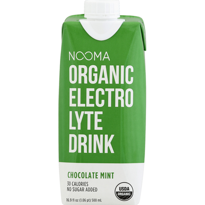 Nooma Electrolyte Drink, Organic, Chocolate Mint