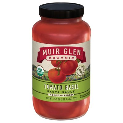 Muir Glen Pasta Sauce, Organic, Tomato Basil