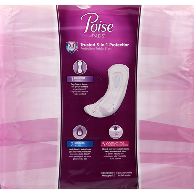 Poise Incontinence Overnight Pads