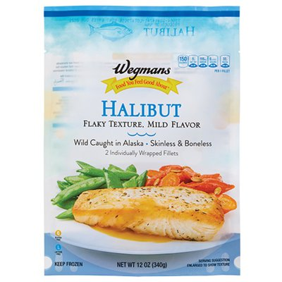 Wegmans Food You Feel Good About Wild Caught Alaskan Halibut