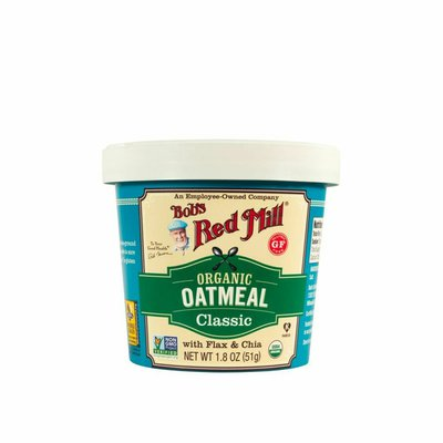Bob's Red Mill Gluten Free Oatmeal Cup, Classic, Organic
