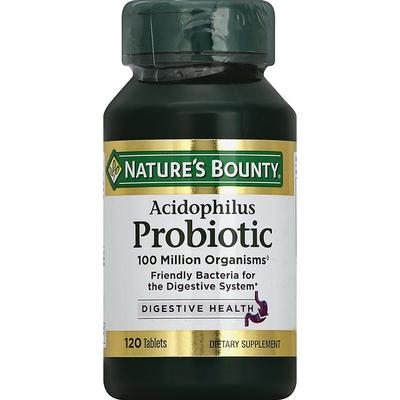 Nature's Bounty Probiotic, Acidophilus, Tablets