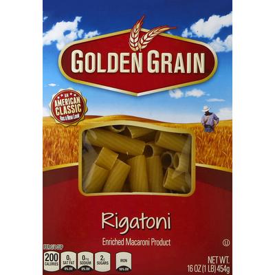 Golden Grain Rigatoni