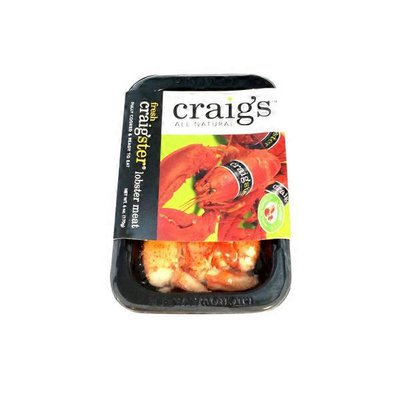 Craig's All Natural All Natural Cooked Lobster Knuckle And Claw Meat