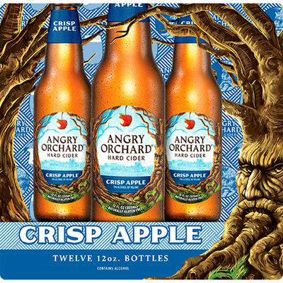 Angry Orchard Crisp Apple Hard Cider, Spiked