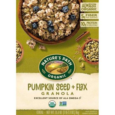 Nature's Path Flax Plus Pumpkin Flax Granola