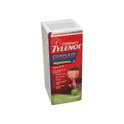 Tylenol Complete Cold, Cough & Flu