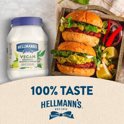 Hellmann's Vegan Dressing And Spread Vegan Dressing And Spread Plant Based Alternative To Mayo
