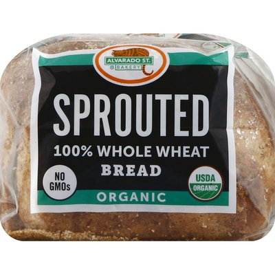 Alvarado St Bread, Organic, Sprouted, 100% Whole Wheat
