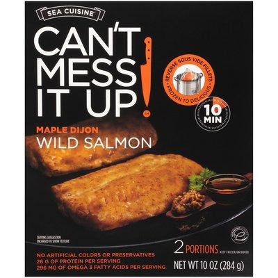 Sea Cuisine Can't Mess It Up! Maple Dijon Wild Salmon