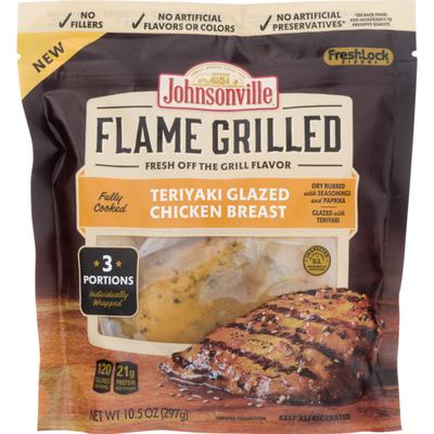 Johnsonville Flame Grilled Teriyaki Glazed Chicken Breast