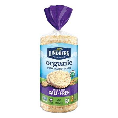 Lundberg Family Farms Brown Rice Organic Rice Cakes Salt-Free