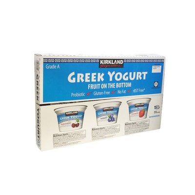 Kirkland Signature Greek Yogurt With Fruit, 15 x 6 oz
