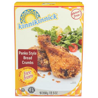 Kinnikinnick Foods Foods Bread Crumbs Panko Style