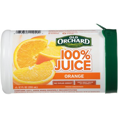 Old Orchard Orange 100% Juice Frozen Concentrate
