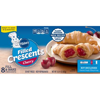 Pillsbury Filled Crescents, Cherry